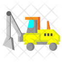 Loader Vehicle Construction Icon