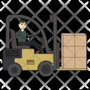 Loader Shipping Cargo Icon
