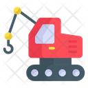 Loader Crane Crane Construction Icon