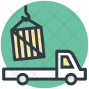 Loading Container Lorry Icon