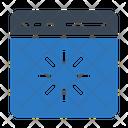 Webpage Loading Progress Icon