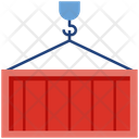 Loading Cargo Logistics Icon