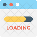 Loading File Processing Icon