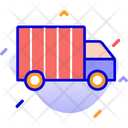 Loading Cargo Cargo Delivery Truck Icon
