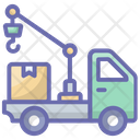 Loading Parcel Cargo Shipment Icon