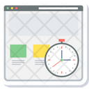 Load Time Clock Icon