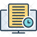 Loading Time Documentation Time Processing Time Icon