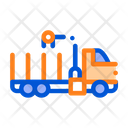 Truck Delivery Loading Icon