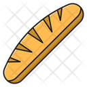 Loaf Bread Baked Icon