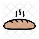 Loaf Bread Food Icon