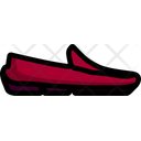 Moccasin Casual Shoe Icon