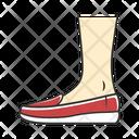 Shoe Footwear Loafer Icon