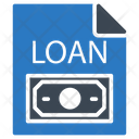 Loan File Document Icon