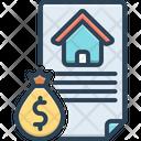 Loan Mortgage Money Lending Icon