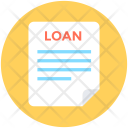 Loan Application Paper Icon