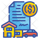 Loan Car Loan Home Loan Icon