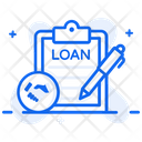 Loan Papers Property Document Loan Agreement Icon