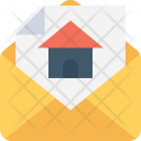 Loan Application House Icon