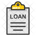 Loan Papers Insurance Icon