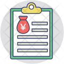 Loan Application Agreement Icon