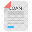 Loan Application Loan Agreement Loan Contract Icon
