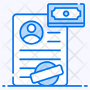 Loan Application Loan Agreement Loan Form Icon