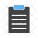 Loan Document Paper Icon
