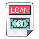 Loan Bank Finance Icon