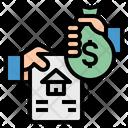 Loan Money Exchange Icon