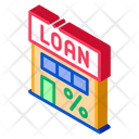 Building House Loan Icon
