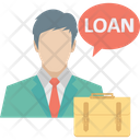 Property Agent Estate Agent Loan Officer Icon