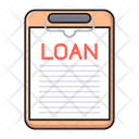 Loan Document Clipboard Icon