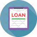 Loan Papers Contract Icon