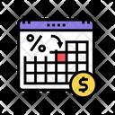 Loan Payment Date Loan Date Date Icon