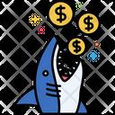 Loan Shark Loan Shark Financial Problem Icon