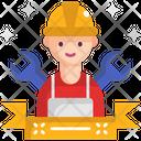 M Labor Man Icon