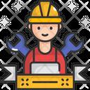 M Labor Man Lobor Man Labor Icon