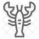 Lobster Crayfish Seafood Icon