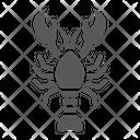 Lobster Food Sea Icon