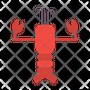 Lobster Seafood Animal Icon