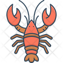Lobster Crayfish Shrimp Icon