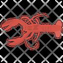 Lobster Nephropidae Homaridae Icon
