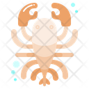 Lobster Shell Animal Icon