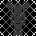 Oktoberfest Lobster Seafood Icon