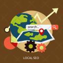Local Seo Development Icon