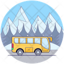 Local Bus Transport Icon