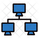 Local Network Client Servers Computer Network Icon