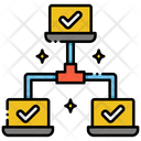 Local Network Computer Connection Lan Icon
