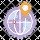 Global Location Worldwide Location International Location Icon