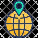 Globe Local Local Seo Icon